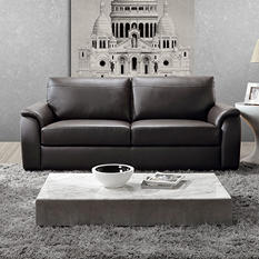 Montclair Leather Sofa