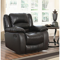 Verona Top-Grain Leather Recliner