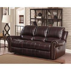 Bentley Top-Grain Leather Sofa
