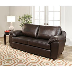 Mavin Top-Grain Leather Sofa
