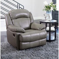 Hamptons Top-Grain Leather Recliner