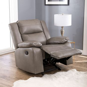 Abbyson Living Perth Rocker Recliner Chair