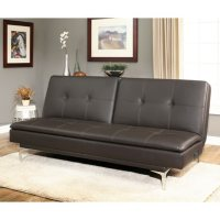 Abbyson Living Vienna Convertible Sofa with USB Power Ports