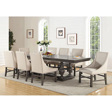 Grayson dining table and chairs set assorted sizes sam for 9 piece living room set