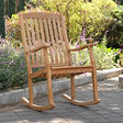 Teak Porch Rocking Chair
