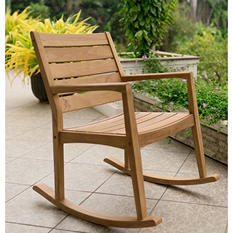 Madison Collection Teak Rocking Chair