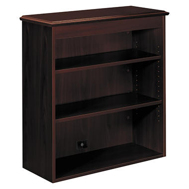 HON - 94000 Bookcase Hutch - Mahogany