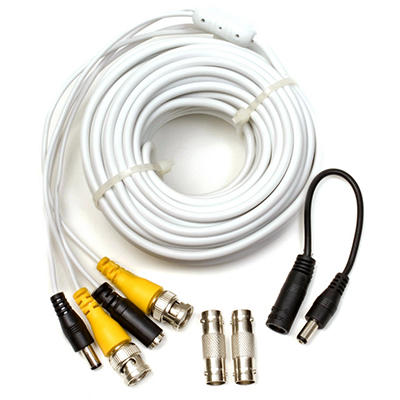Q-See 50' BNC Video and Power Cable