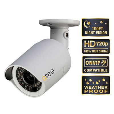 Q-See 720p HD Weatherproof IP Bullet Camera