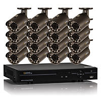 Q-See 16 Channel 1080p HD Security System with 2TB Hard Drive, 16 1080p Bullet Cameras, and 80' Night Vision