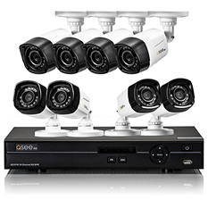 Q-See 16 Channel High Definition Security System with 1TB Hard Drive, 8 720p Bullet Cameras and 80' Night Vision