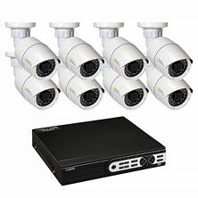 Q-See 16 Channel 3MP HD IP NVR Security System with 2TB Hard Drive, 8 3MP Bullet Cameras, and 100' Night Vision