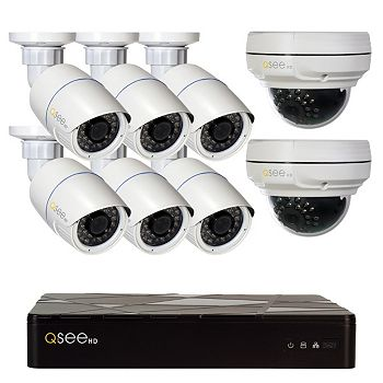 Q-See 8 Channel Security System