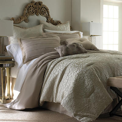 Samantha 8 Piece Jacquard Comforter Set - Various Sizes