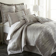 Morning Mist 8 Piece Jacquard Comforter Set - Various Sizes