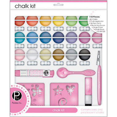 I Kandee Chalk Kit - 110 Piece