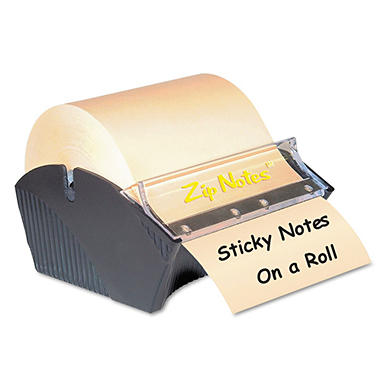 Zip Notes - Manual Sticky Note Dispenser - 3 x 3 - Dark Blue