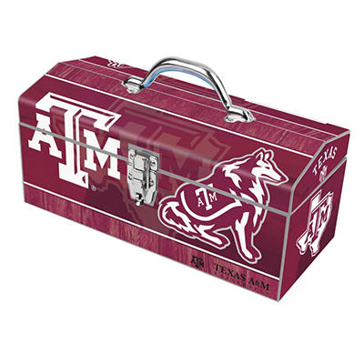 Sainty Art Works Texas A & M Art Tool Box - 16""