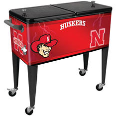 University of Nebraska 80-Quart Patio Cooler