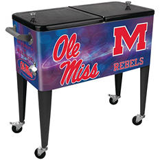University of Mississippi 80-Quart Patio Cooler