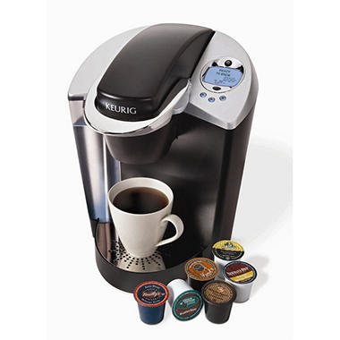 Keurig Brewer with My K-cup and 60 K-cups