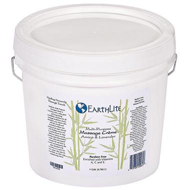 EarthLite Multi-Purpose Massage Crème - 1 Gallon
