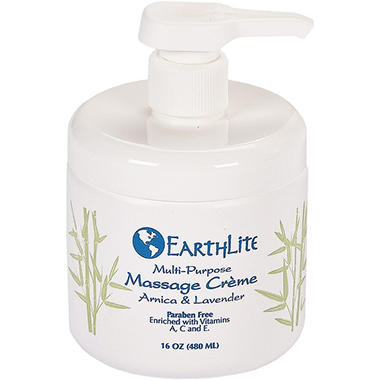 EarthLite Multi-Purpose Massage Cr�me - 16 oz