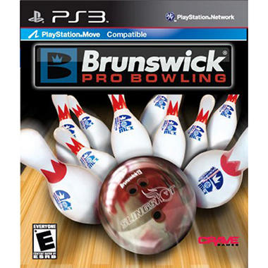 Brunswick Pro Bowling - PS3 Move