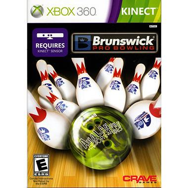 Brunswick Pro Bowling - Xbox 360 Kinect