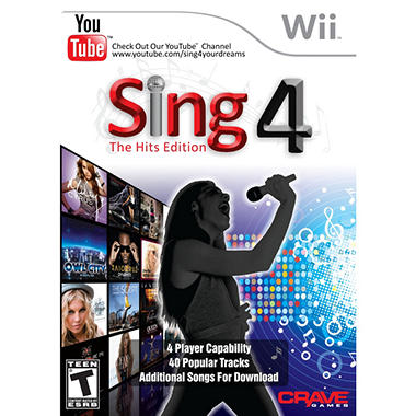 Sing 4: The Hits Edition with Microphone - Wii