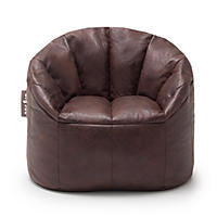 Big Joe Large Milano Chair, Faux Leather