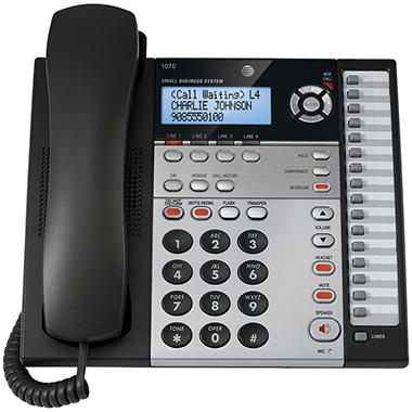 AT&T 1070 Four-Line Speakerphone w/ CID/CW