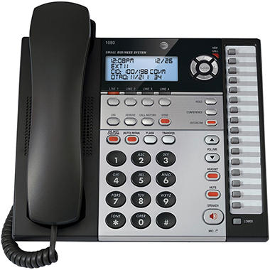 AT&T 1080 4-Line Speakerphone w/ Answering System