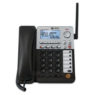 AT&T SynJ 4-Line Cordless Deskset for SB67158 Corded Base