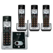 AT&T 4 Handset Answering System with Caller ID/Call Waiting
