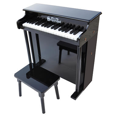 Schoenhut 37-Key Traditional Deluxe Spinet-Black