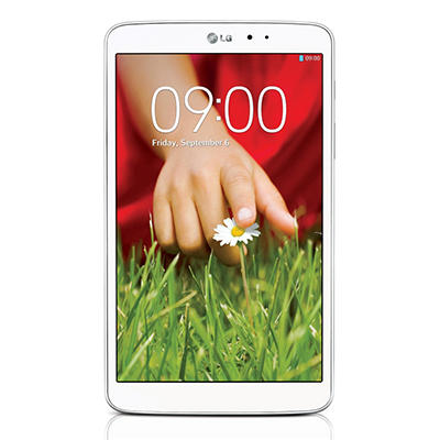 "8.3"" LG G Pad 8.3 Tablet- 16GB White"