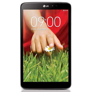"""*$199 after $100 Tech Savings* 8.3"""" LG G Pad 8.3 Tablet- 16GB Black or White"""