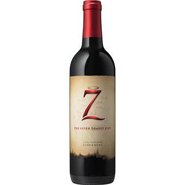 +SEVEN DEADLY ZINS ZINFANDEL 750ML