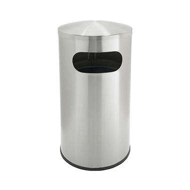 Precision Series Allure Trash Can - Stainless Steel - 25 gal.