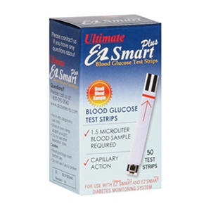 Ultimate EZ Smart Plus Test Strips - 50 ct.