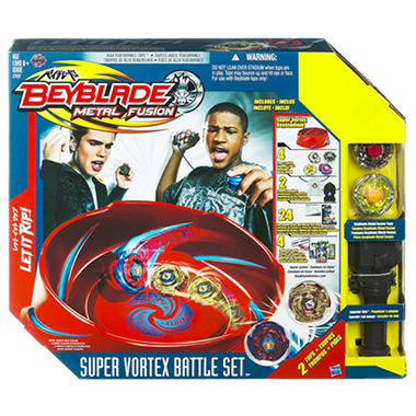 Beyblade Metal Fusion Super Vortex Battle Set™