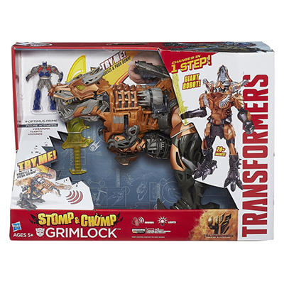 Transformers Age of Extinction Chomp and Stomp Grimlock Figure