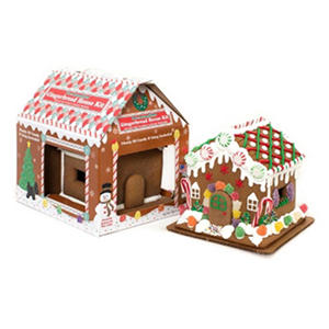 Cookie Gallery Pre-Assembled Gingerbread House Kit
