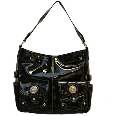 London Fog Audrey Hobo - Black