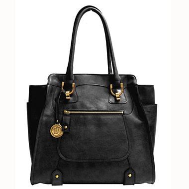Fog By London Fog Knightsbridge Tote - Black
