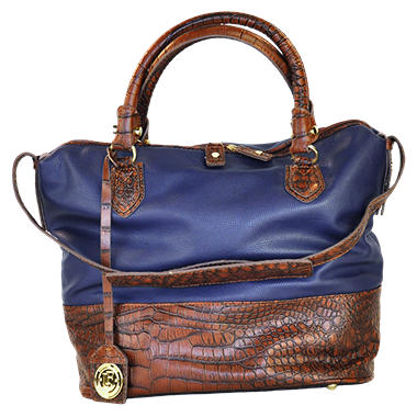 Fog by London Fog Norton Bucket Satchel - Navy