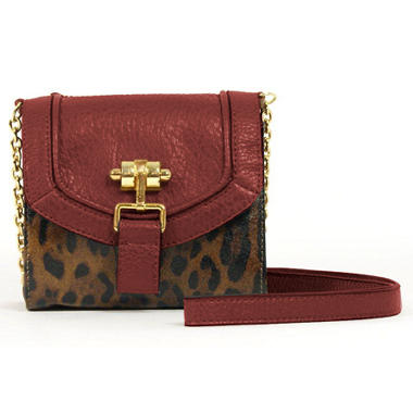 London Fog Radnor Crossbody Bag - Leopard