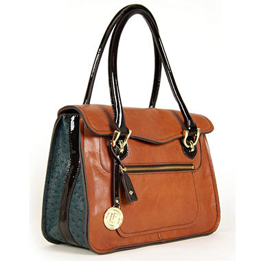 London Fog Westway Flap Handbag - Spice