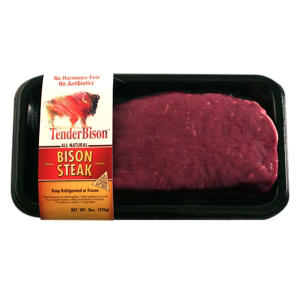 TenderBison Bison Steak (8 oz. ea., 6 ct.)